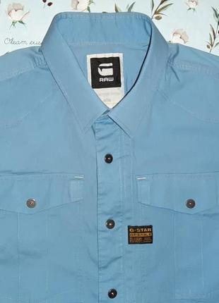 Акция 1+1=3 шикарная оригинальная рубашка g-star raw, размер 48 - 50