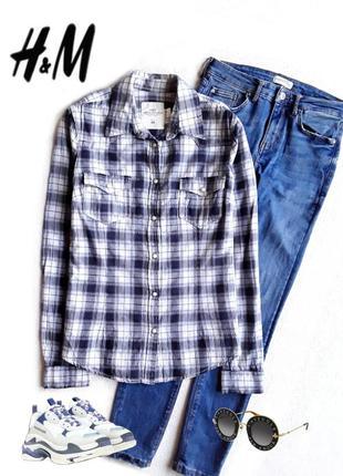 Актуальная рубашка в клетку от h&m