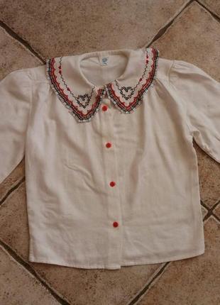 Блузка рубашка италия на 4 года