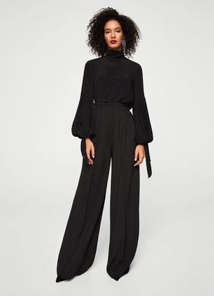 Шифоновая блузка,рубаха объемная,застежка по спинке,бохо стиль, asos
