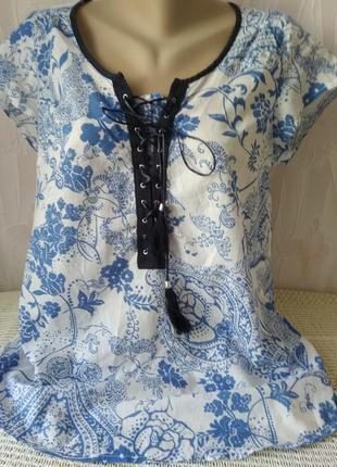 Туника блузка  в стиле бохо