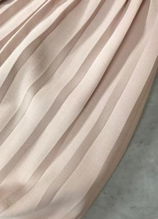 Нежная юбка на запах со вставками из плиссе  ki1914005  topshop3 фото
