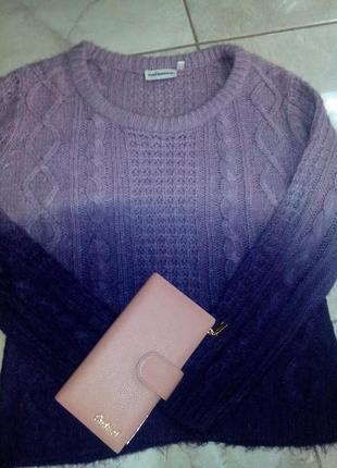Крутой свитер омбре