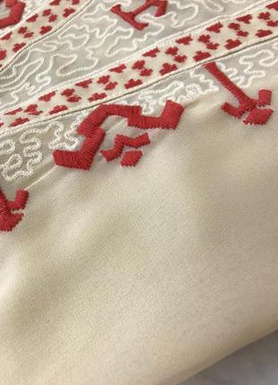 Шифоновая блуза с вышивкой  bl1914161 next3 фото