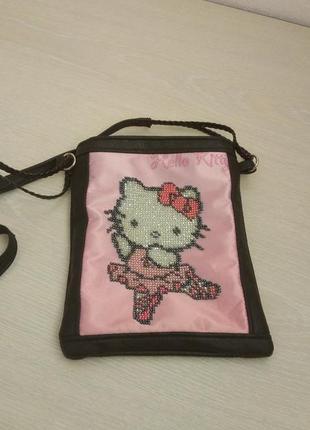 Веселая сумочка hello kitty