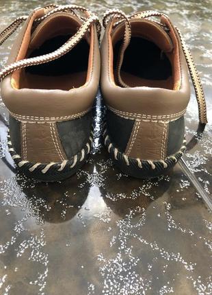 Стильные подростковые туфли натуральная кожа
