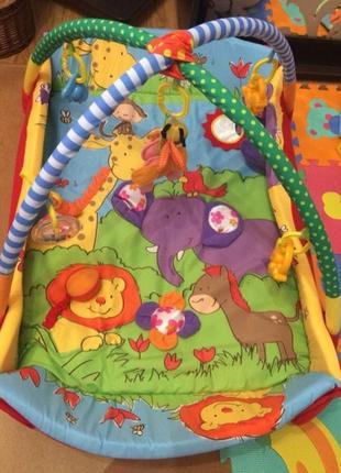 Игровой коврик zoo