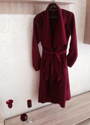 Роскошное кашемировое польское пальто тренч,,,,, разные цвета +короткие7 фото
