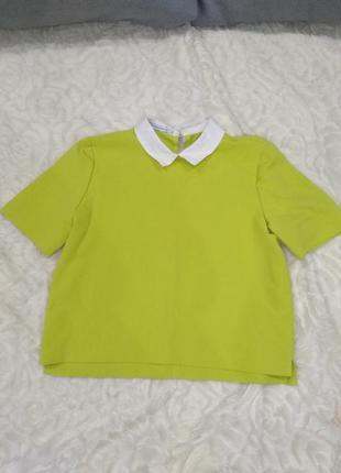 Яркая блуза дорогого бренда1 фото