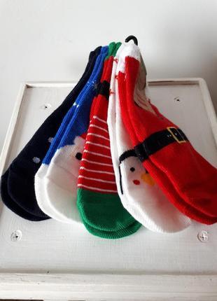 Комплект новогодних носочков primark
