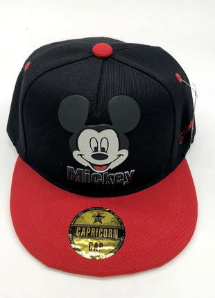 13-158 снепбэк mickey mouse микки маус детская бейсболка кепка панамка шапка