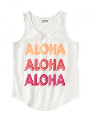 "Майка  сrazy8 ""aloha"", размер м(7-8)"