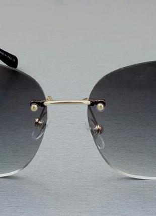 Chanel очки женские солнцезащитные с камнями3 фото