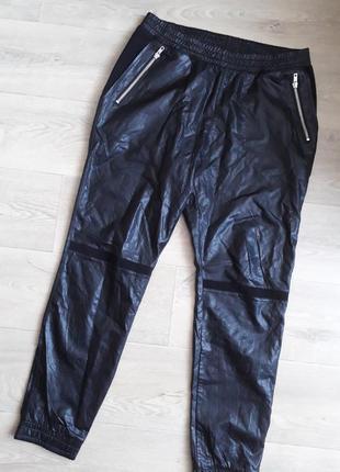 Брюки,  штаны кожзам