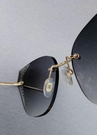 Chanel очки женские солнцезащитные с камнями8 фото