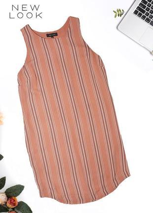 Платье в пижамной стиле прямого покроя new look