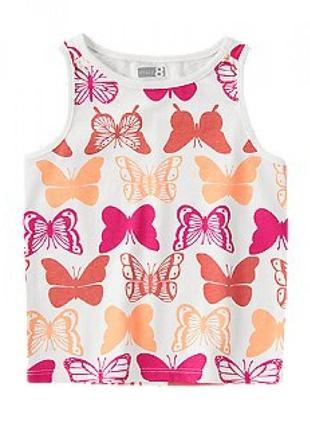 "Майка сrazy8 ""бабочки"""