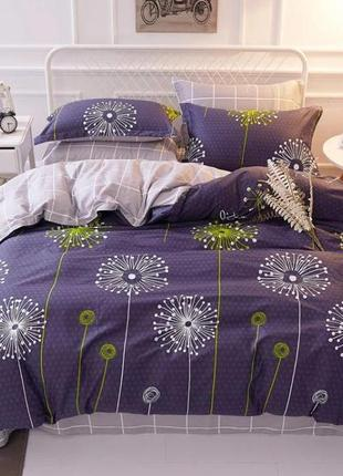 Красивый евро комплект постельного белья