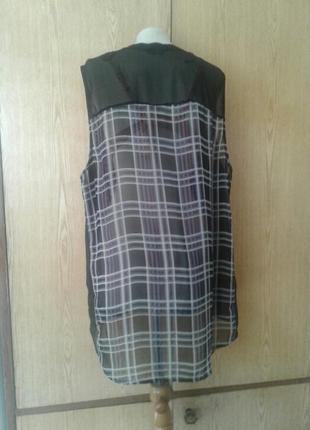 Шифоновая накидка - платье, 3хl/ 24.4 фото