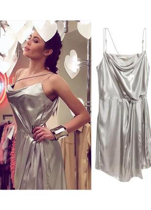 Платье металик