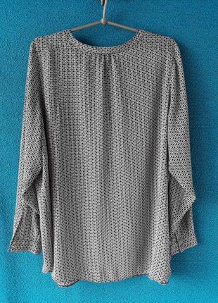 Блузка в принт2 фото