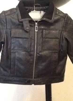 Кожаная куртка dior на синтепоне 3 года оригинал!