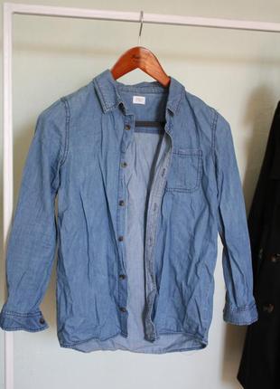 Рубашка / сорочка під джинс / джинсова / супер знижки, 3 речі за ціною 2-х!
