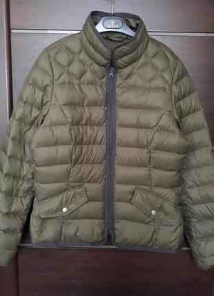 Люксовый ультралегкая пуховик куртка от kate storm германия p.s-m