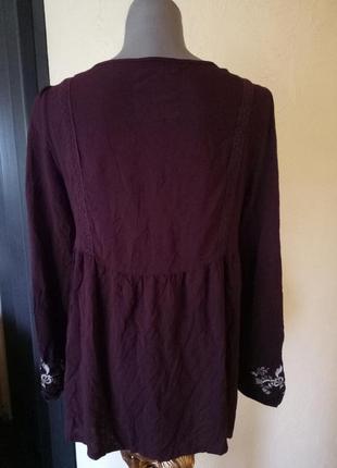 Блуза из вискозы,с вышивкой2