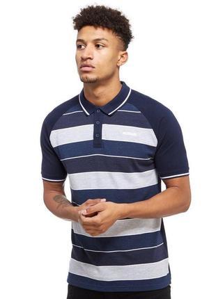 Фирменная футболка mckenzie синяя поло m l