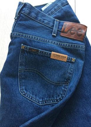 Плотный коттон джинсы lee 36/30