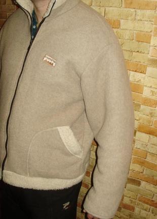 Флисовая теплющая куртка толстовка размера xxl3 фото
