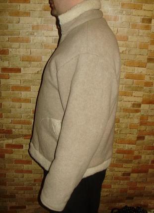 Флисовая теплющая куртка толстовка размера xxl4 фото