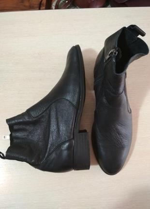 Фирменные, кожаные ботинки, челси, 100% кожа, супер качество!!!