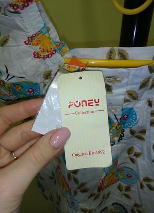 Летний костюм на девочку poney collection4 фото