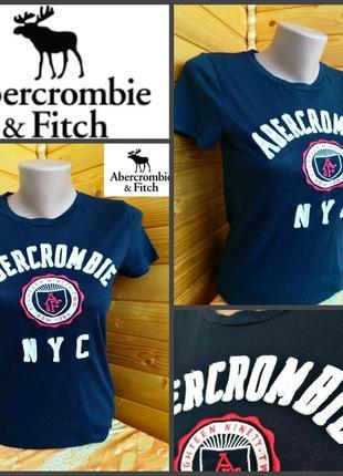 Фирменная футболка abercrombie & ffitch, оригинал, р. м