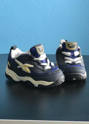 Кожаные кроссовки ботинки reebok