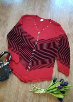 Ассиметричный  шерстяной свитер