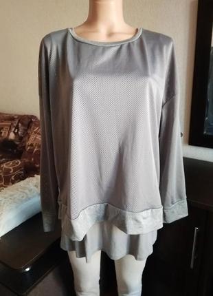Актуальный весенний пуловер c&a с перфорацией свитер кофта