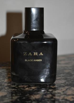 Духи zara black amber 100 ml, оригинал испания