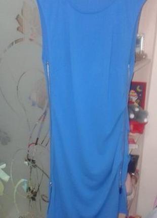 Платье на молнии с двух сторон