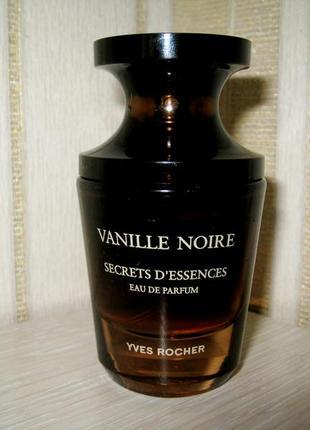 Замечательный wanille noire secrets dessences (черная ваниль) 30 ml