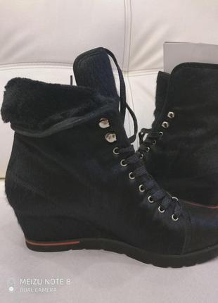 Эксклюзив! ботинки женские на натуральном меху!