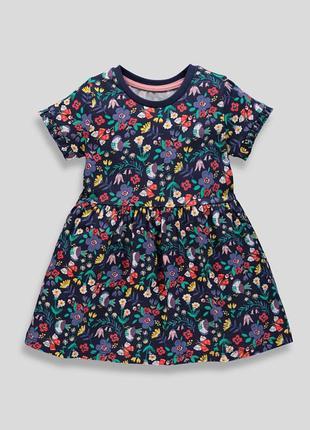 Очень красивое платье с цветами matalan англия