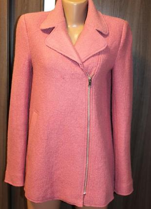 Демисезонная куртка с шерстью trafaluc в идеальном состоянии xs -s