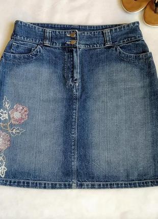 Джинсовая юбка lindex