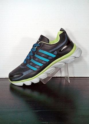 Черные спортивные кроссовки sayota на платформе, для бега и тренировок.