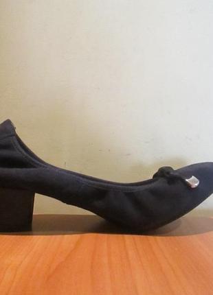 Очень интересные и недорогие туфли san marina р.36.оригинал.сток6 фото