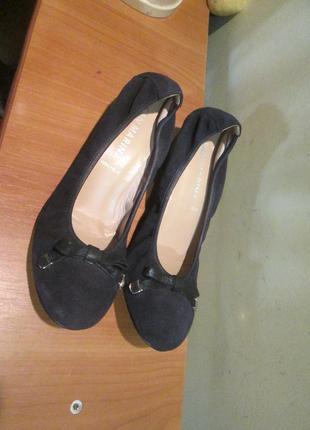 Очень интересные и недорогие туфли san marina р.36.оригинал.сток2 фото