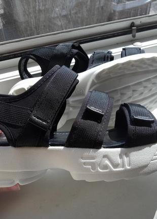 Стильные женские спортивные босоножки сандали на толстой подошве